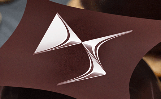 Chef Damien Transforms DS Car Logo into Chocolate Dessert