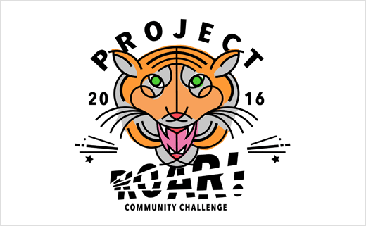 Tann Westlake Creates Tiger Logo for 'Project Roar!'