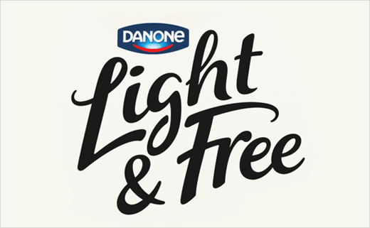 Dragon Rouge Brands Danone's New 'Light & Free' Yogurt
