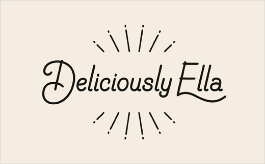 Ragged Edge Refreshes Brand Identity for Deliciously Ella - Logo ...