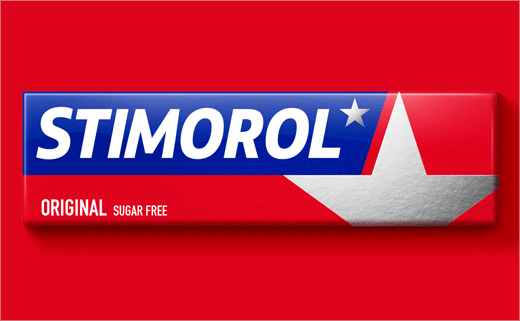 Bulletproof Rebrands Stimorol Chewing Gum