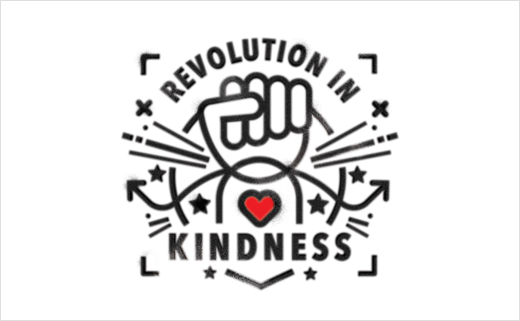 Tann Westlake Creates Branding for 'Revolution in Kindness'