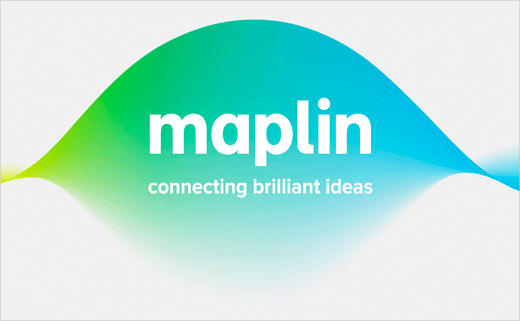 SomeOne Creates New Logo and Identity for Maplin Electronics