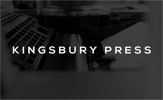 StudioMono Rebrands Kingsbury Press