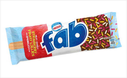 FAB Ice Lolly Gets New Logo and Packaging by Springetts