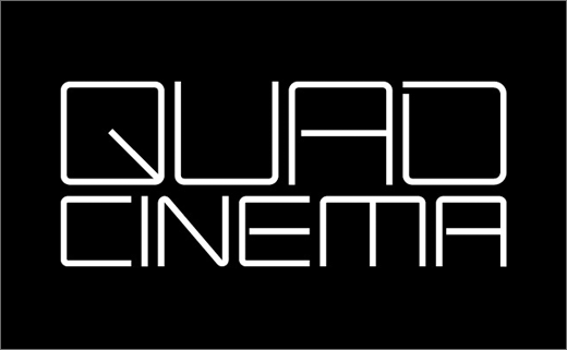 Historic 'Quad Cinema' Gets New Logo Design by Pentagram