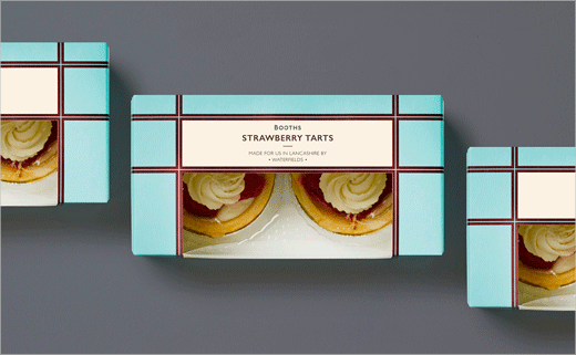 Smith&+Village Rebrand Booths' Cakes and Puddings