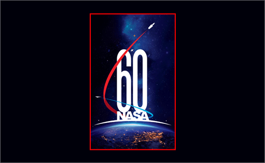 NASA Reveals 60th Anniversary Logo
