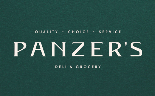 Here Design Rebrands Panzer's Deli & Grocery