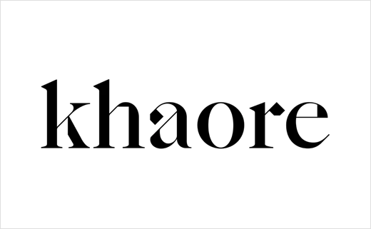Pentagram Brands Luxury Handbag Maker, 'Khaore'