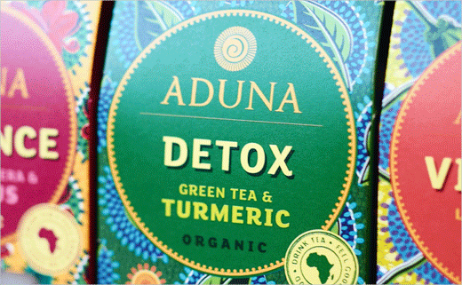 Carter Wong Designs Aduna's New African 'Super-Teas'