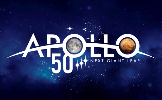 NASA Reveals Special Logo to Mark Apollo's 50th Anniversary