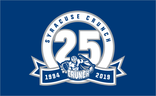 Syracuse Crunch Reveals 25th Anniversary Logo