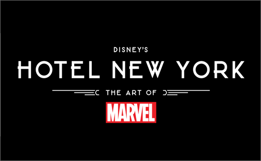 Logo Revealed for Disney's Hotel New York – The Art of Marvel