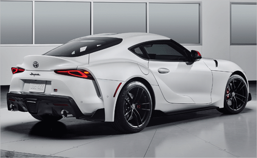 New Toyota Supra Gets Racetrack-Inspired Logo Design ...