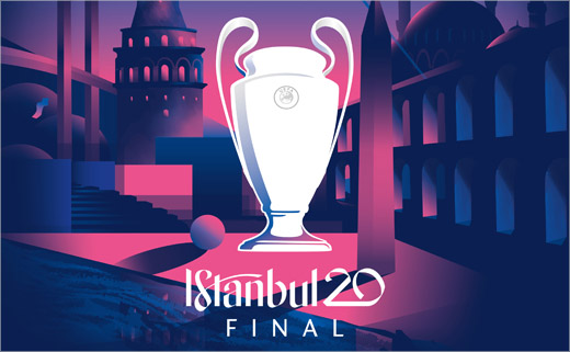 Logo Unveiled for the 2020 Champions League Final in Istanbul