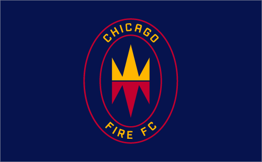 Chicago Fire Rebrands with New logo and Identity