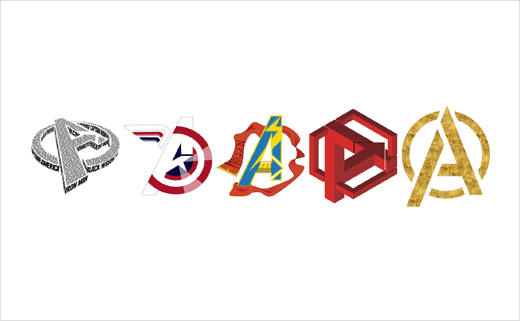 Marvel Design Contest Reimagines Avengers Logo