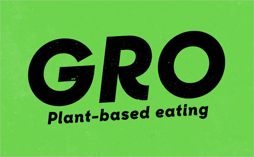 Robot Food Creates New Vegan Brand 'GRO' for Co-op