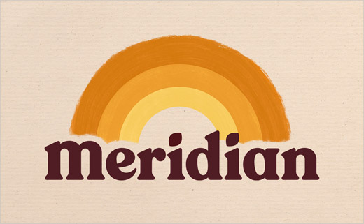 Meridian Reveals New Logo and Packaging by Bulletproof