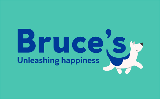 ODA Creates New Logo and Identity for Bruce's Doggy Day Care